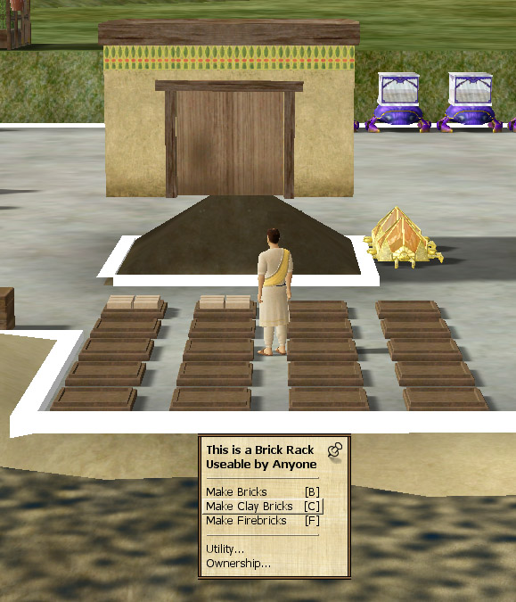How Do You Make Clay Bricks : Atitd factories in the desert why i game