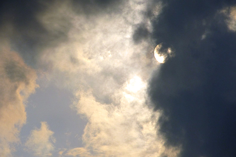 Sun and clouds - RL