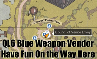 TSW: Public Service Announcement - Directions to Blue Mountain and Council of Venice Blue Vendors (2/2)
