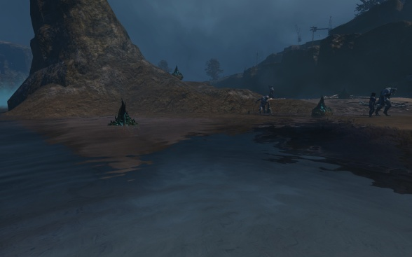 Draug watching, like Baywatch, only much more gruesome...