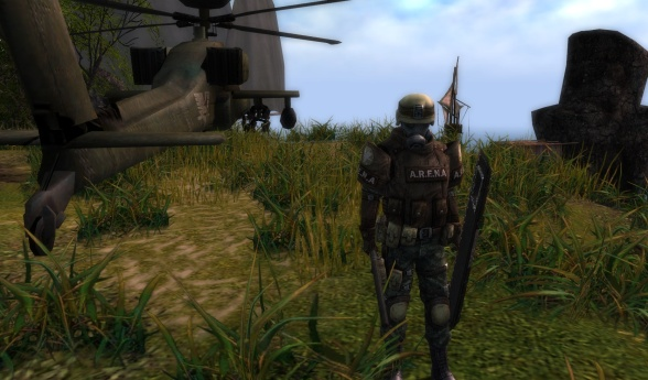Metagaming: Bringing tactical combat gear (and an Apache helicopter) to a knife fight