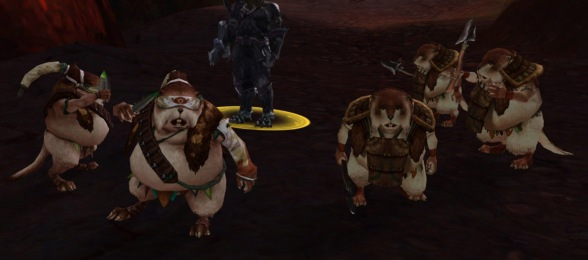 They're not Ewoks, but they'll do. And yes, unpopular opinion warning: I think the sentient hamsters are cute lil buggers.