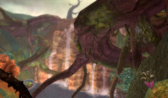 I remember how much I hate the Maguuma Jungle now, a maze of twisting branches and carnivorous plants...