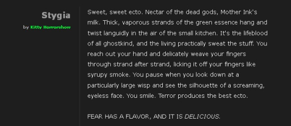 The Flavor of Fear