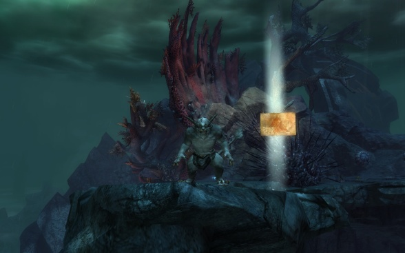 As if the shorefront property of Orr is not tempting enough, you can also be flashed by a Charr in diving goggles!