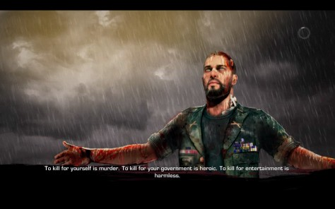 It's not Heavy Rain. I swear. There's a certain eerie similarity of beard and likeness, perhaps.