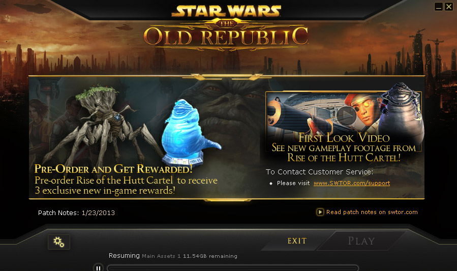 swtor patch download