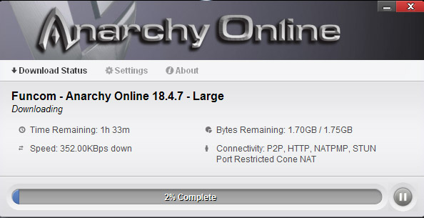 Okay, so the download speed isn't phenomenal, but at least all the information is laid out clearly.
