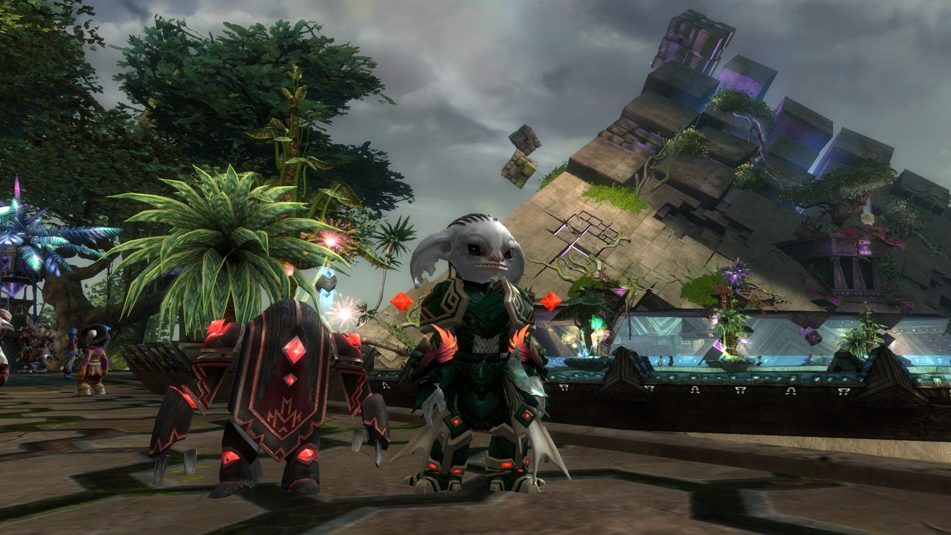 Guild wars 2 gw2 darkened desires gw2 fashion - You Can And It Even Sorta Kinda Matches The Red Golem Mini From The Hom