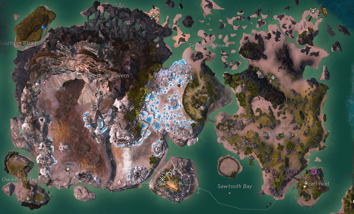 Southsun After: It's nice to see the permanent changes to the map.