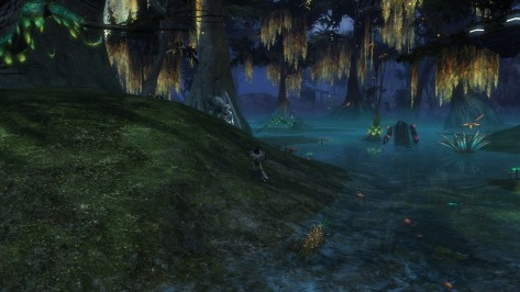 Maybe they don't find the swamp pretty. I think it has its moments. And the yellow fireflies are good xp.