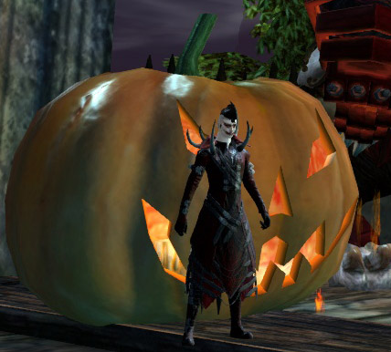 I spent 120g and all I got was an expensive pumpkin decoration.