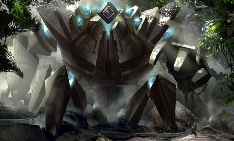 http://wiki.guildwars2.com/wiki/File:Giant_Golem_concept_art.jpg
