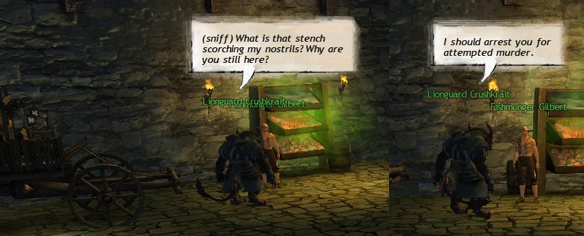 Much to a sharp-nosed charr's frustrations...