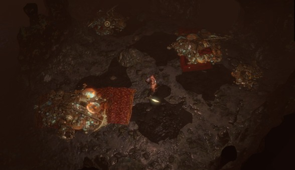 Shiny! Such shiny! As shiny as it gets in shadowy Path of Exile...