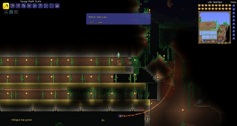 In Africa, they set aside sanctuaries for lions. In Terraria, antlions are the endangered species.