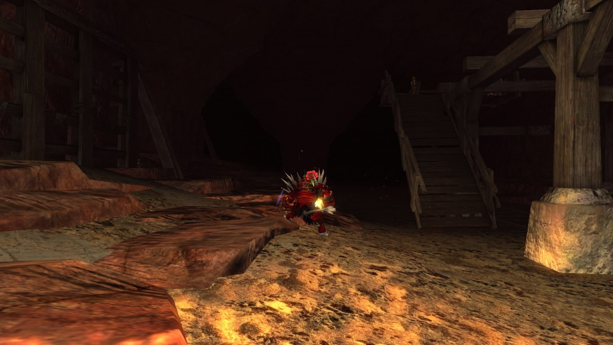 It's times like this I love my Fiery Dragon Sword. Hall of Monuments, whoo!