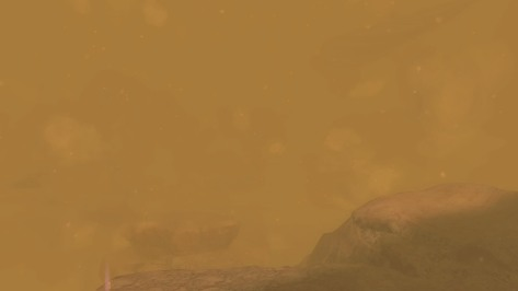 Well, that teaches me to go vista hunting in a sandstorm.