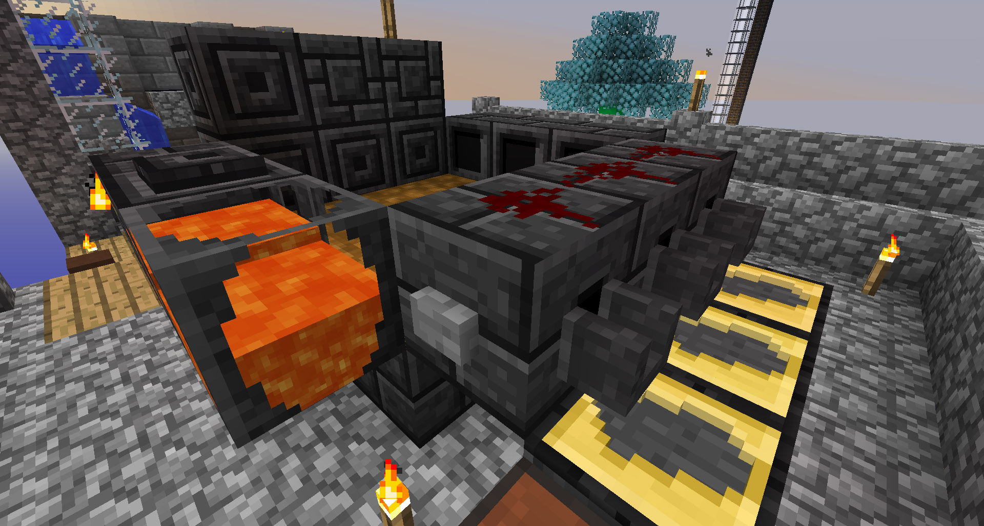 How To Craft Lava Flow Trove