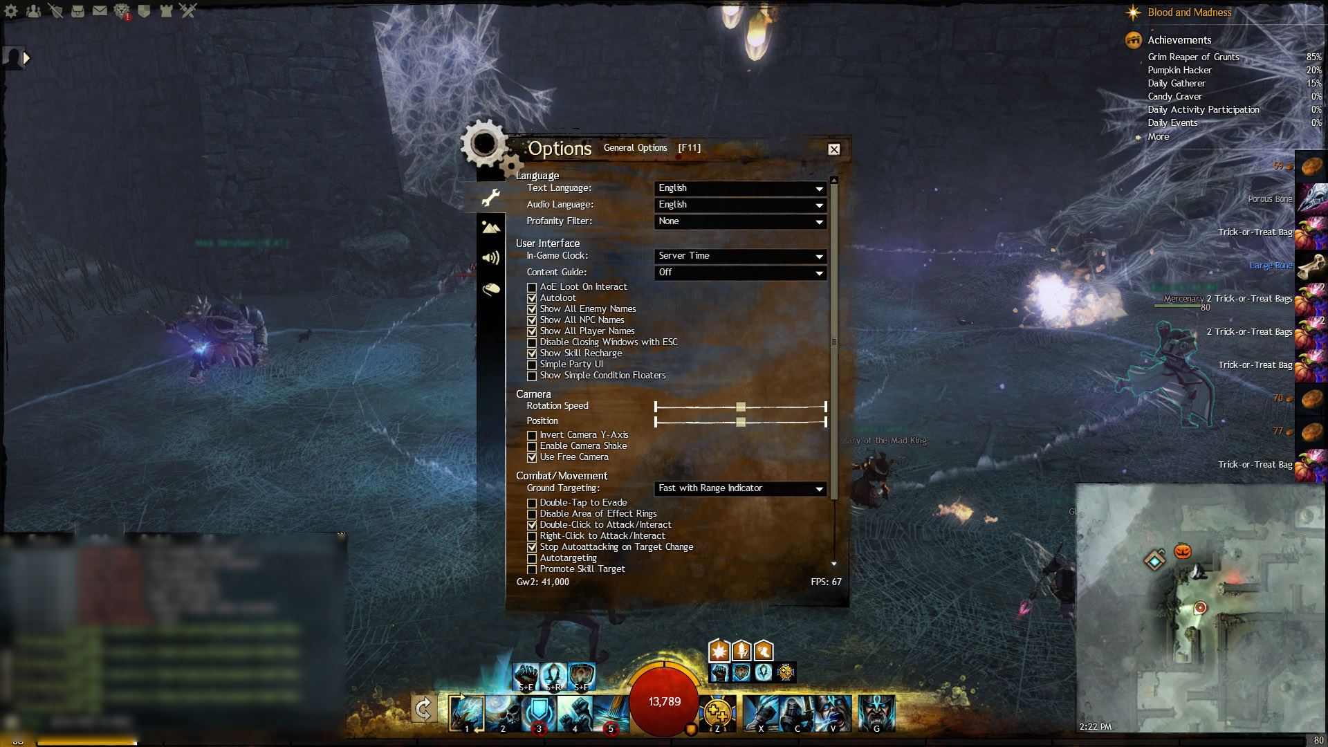 gw2 how to get 60 fps