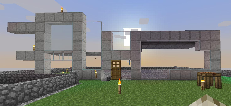 how to build a good mc house