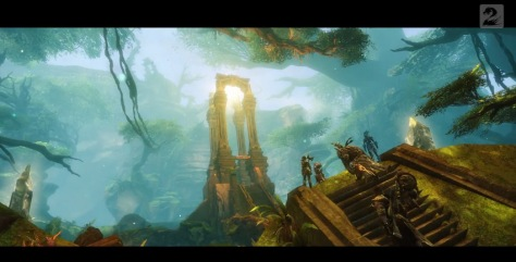 So shiny, this jungle. Feels almost like Guild Wars: Utopia is echoing