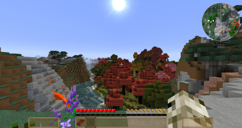 Minecraft - Wanderlust Reloaded modpack - seed: Procedural Generation