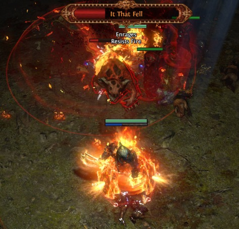 dropbearonfire